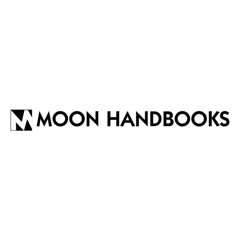Moon Handbooks vector logo