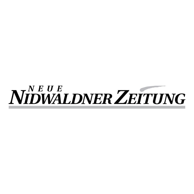 Neue Nidwaldner Zeitung vector