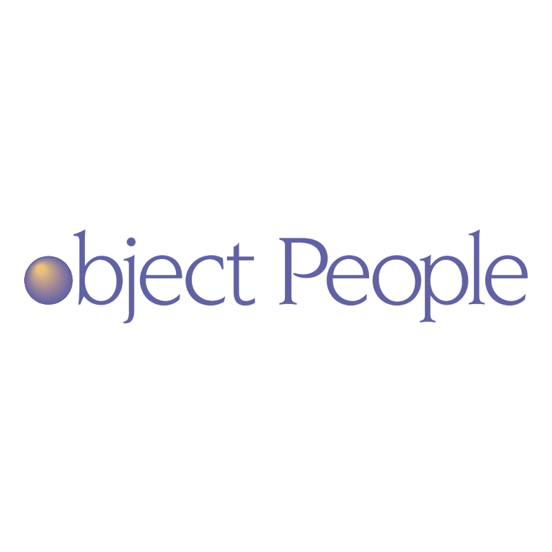 Object People vector logo