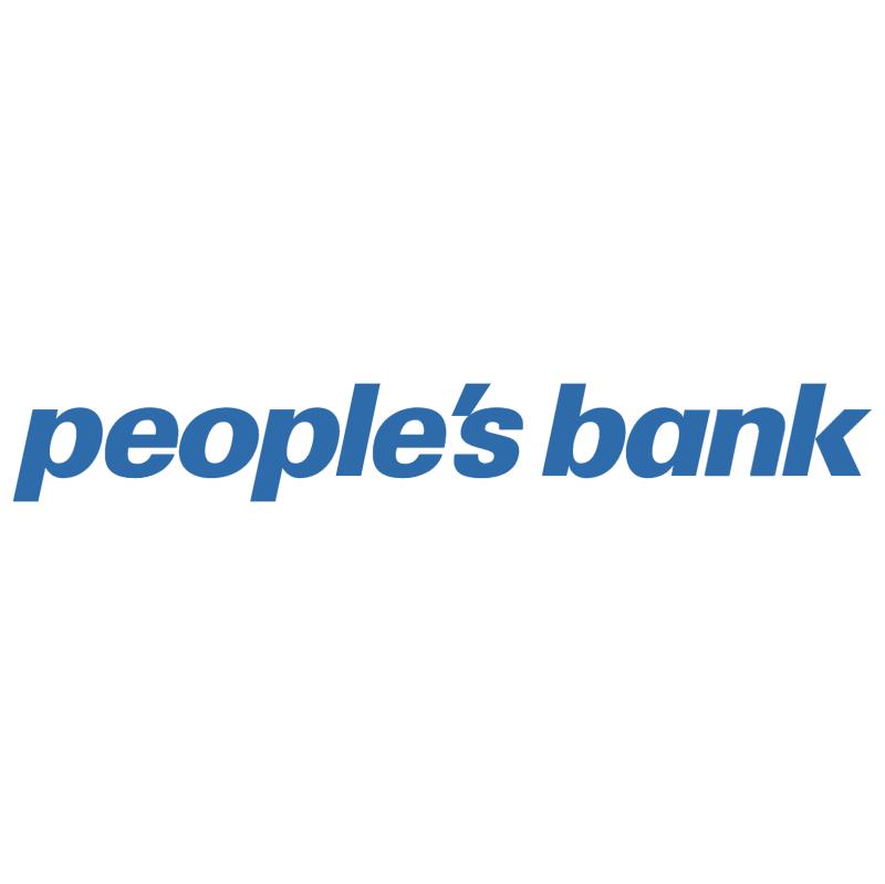 People's Bank vector