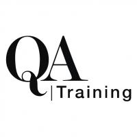 QA Training vector