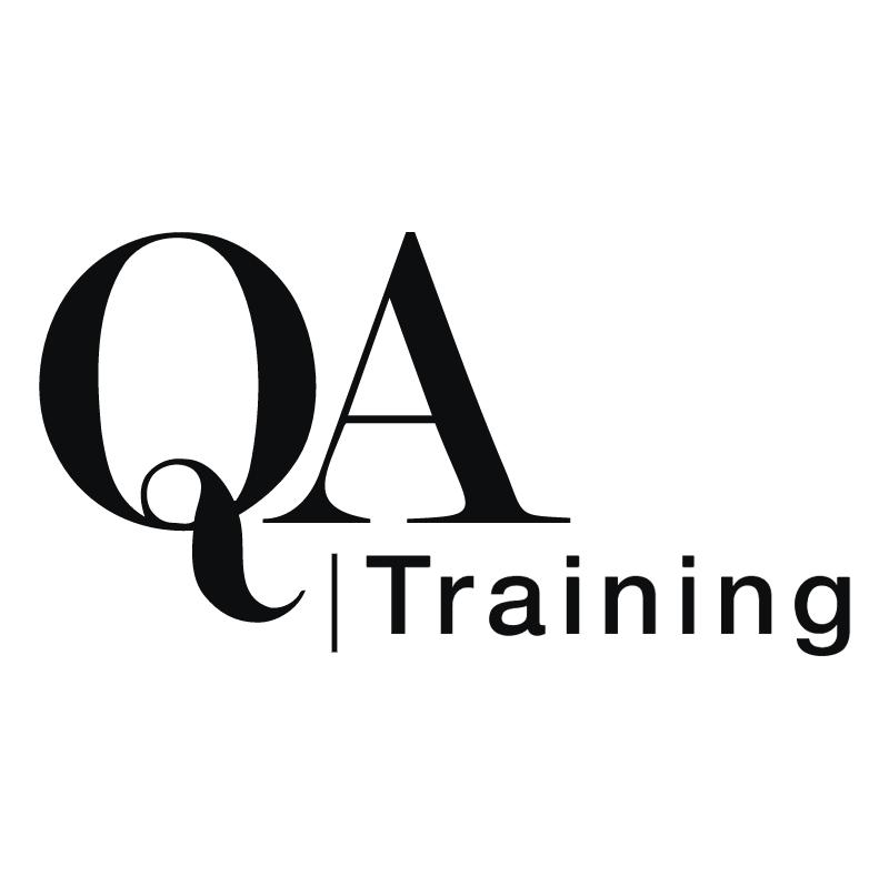 QA Training vector logo