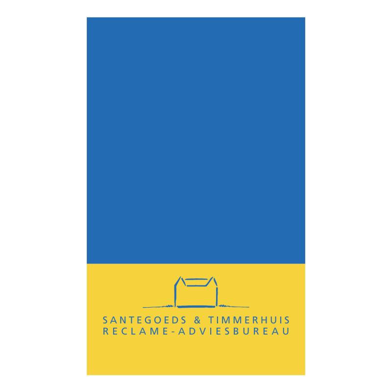 Santegoeds en Timmerhuis vector logo