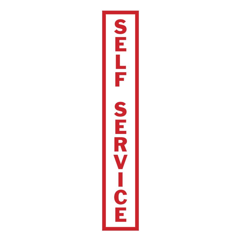 Self Service vector