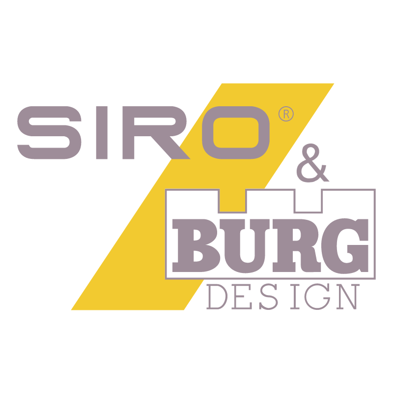 Siro & Burg Design vector
