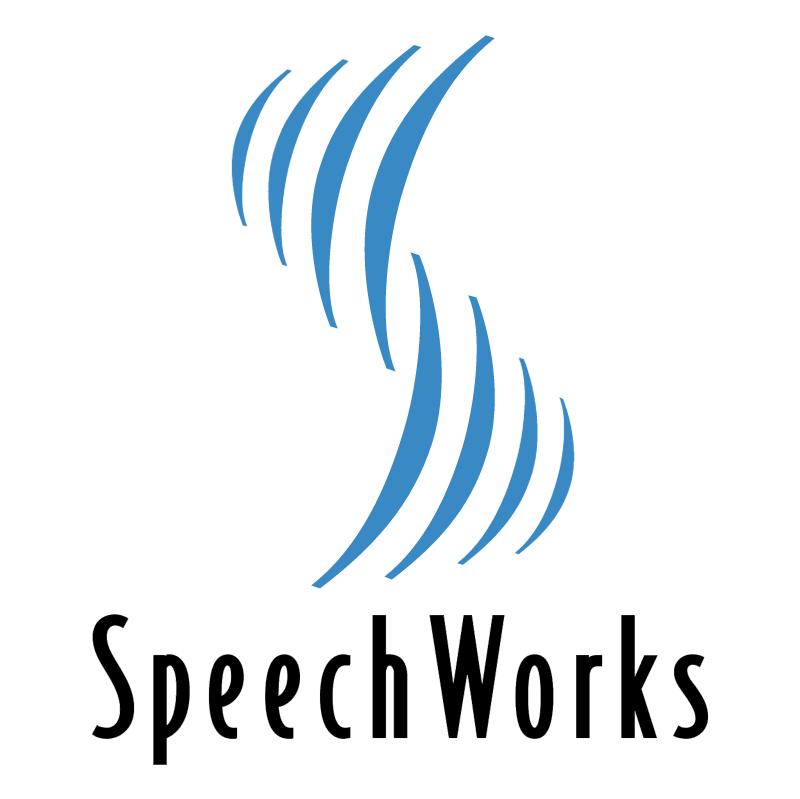SpeechWorks vector logo