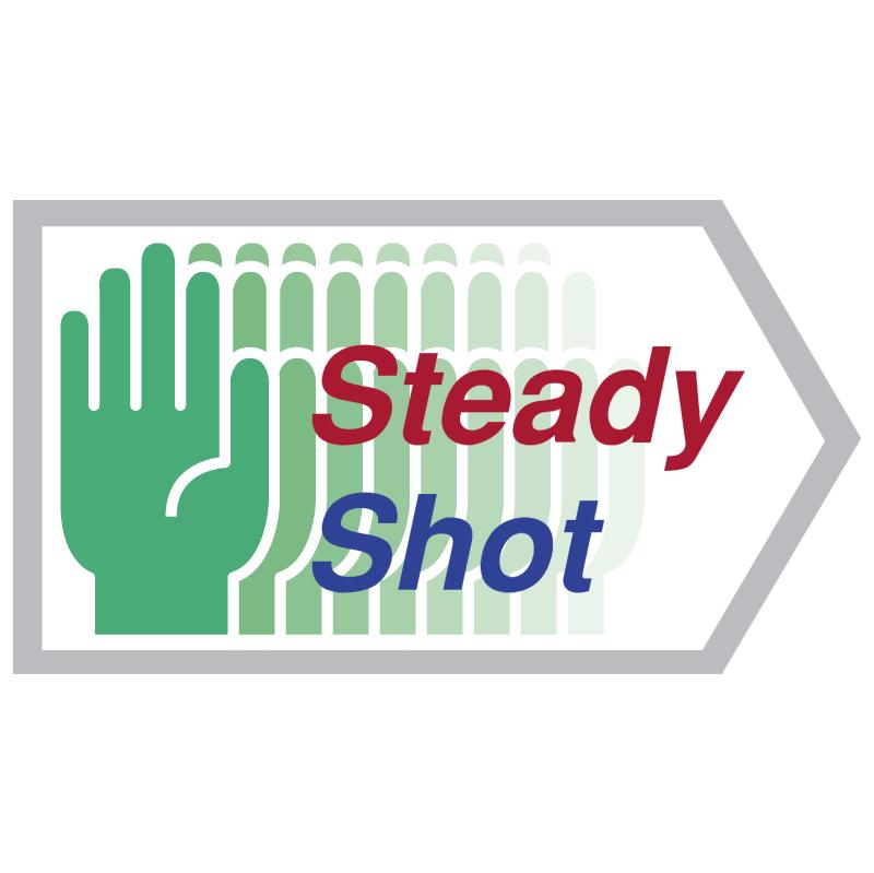Steady Shot vector logo