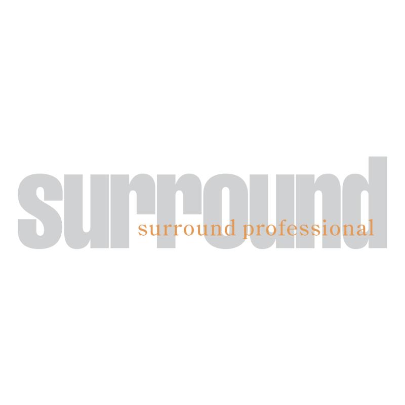 Surround Professional vector