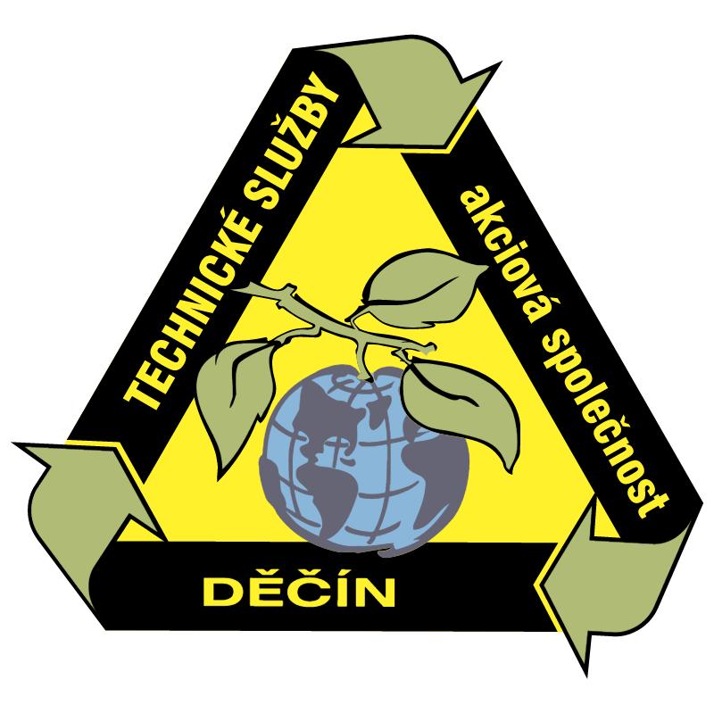 Technicke Sluzby Decin vector logo