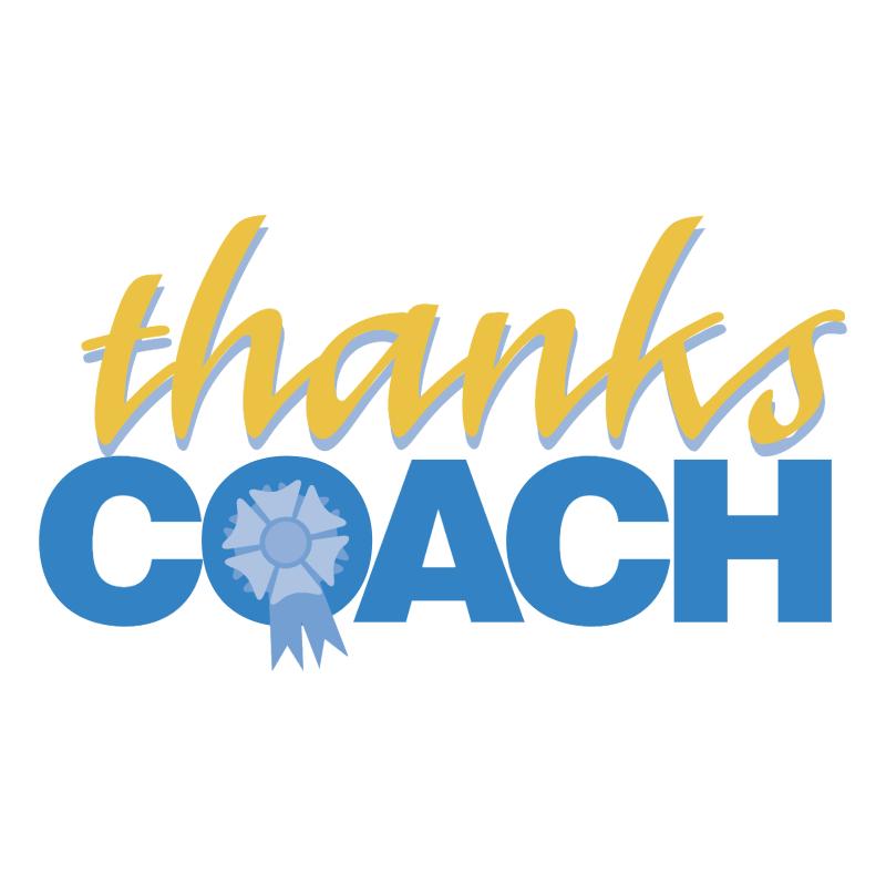Thanks Coach vector logo