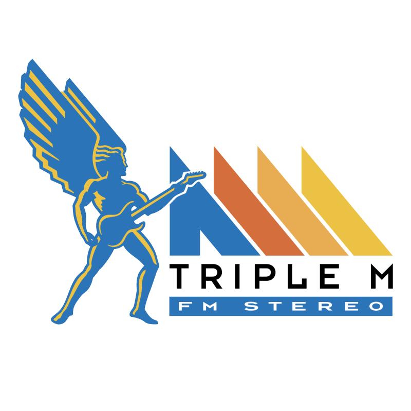 Triple M vector logo