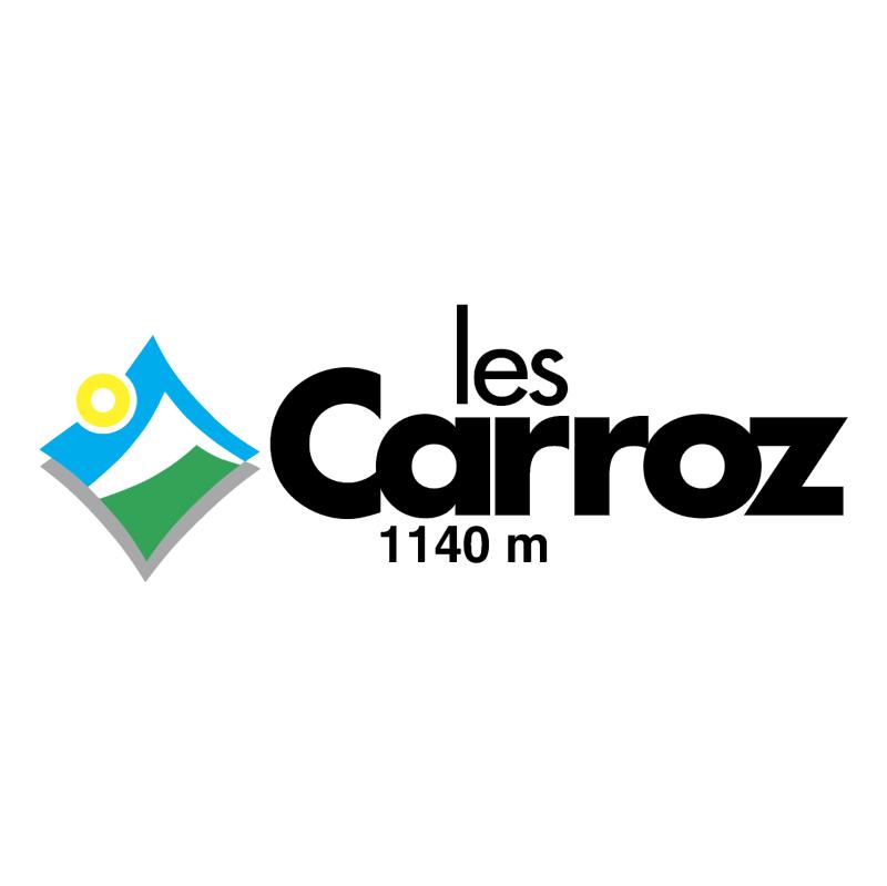 Ville de Les Carroz vector