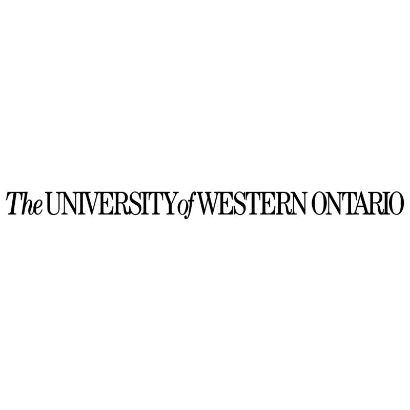 Western Ontario University vector