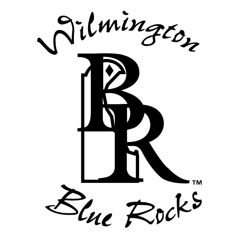 Wilmington Blue Rocks vector