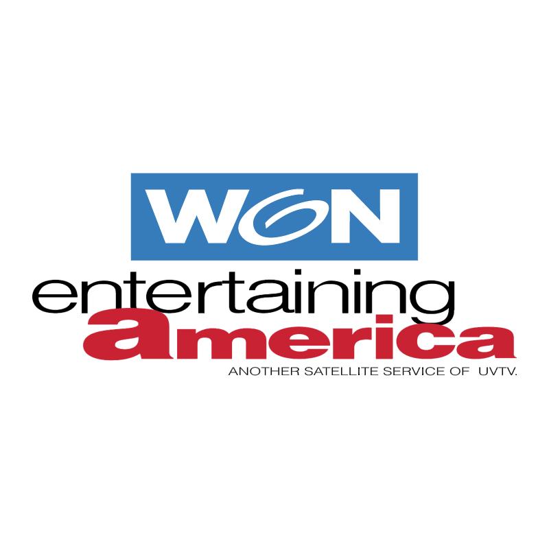 Won Entertaining America vector