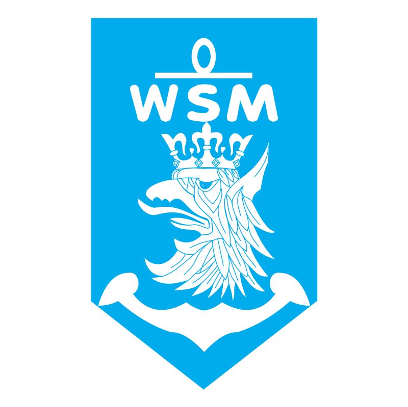 WSM Gdynia vector logo