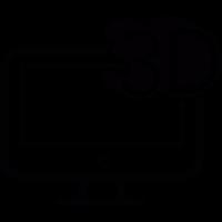 3D screen vector