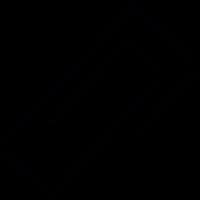 Squared paper clip vector