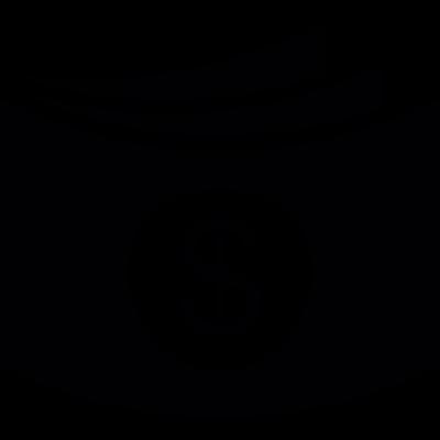 Three Dollar bills vector logo