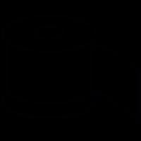 Toilet paper, IOS 7 symbol vector