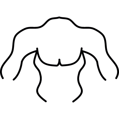 Torso, IOS 7 interface symbol vector logo