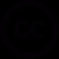 Creative Commons logo vector