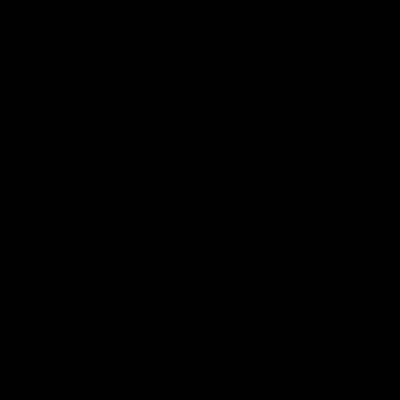 Private garage vector logo
