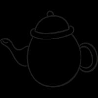 Vintage Teapot vector