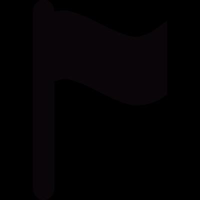 Little flag vector logo