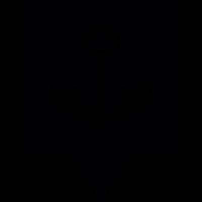 Port Location vector logo