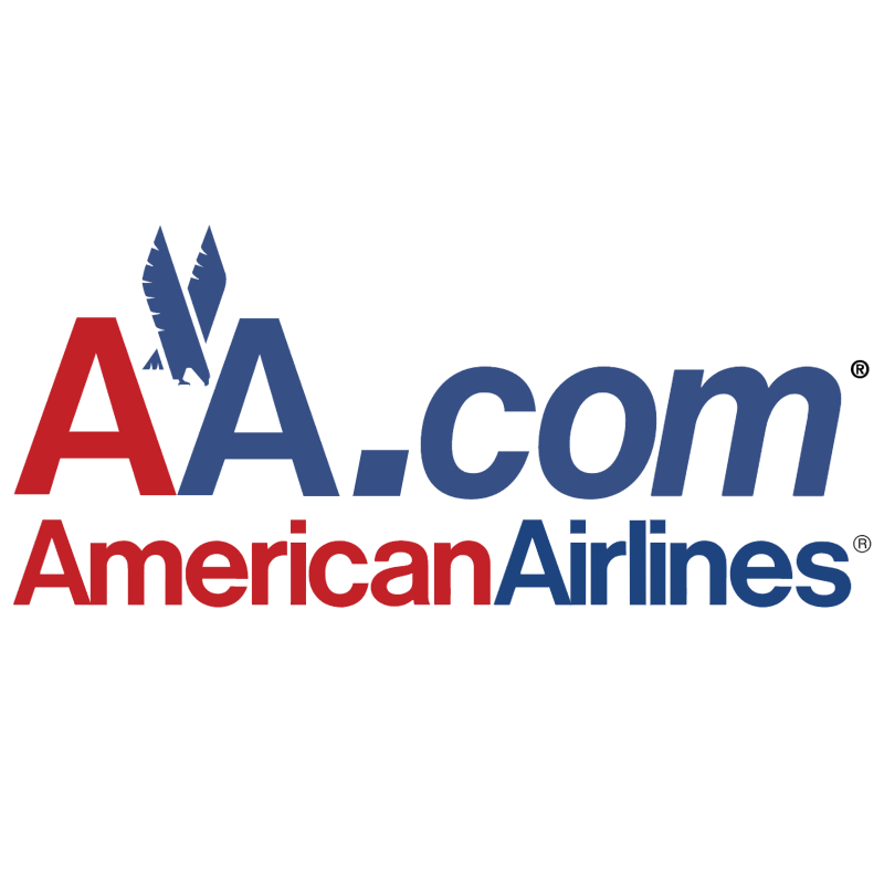 AA com American Airlines vector logo