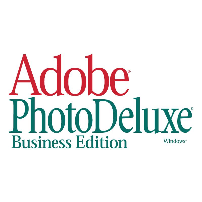 Adobe PhotoDeluxe vector logo