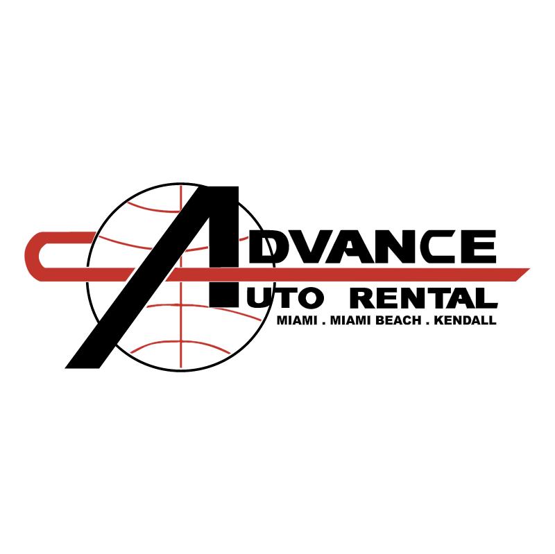 Advance Auto Rental vector