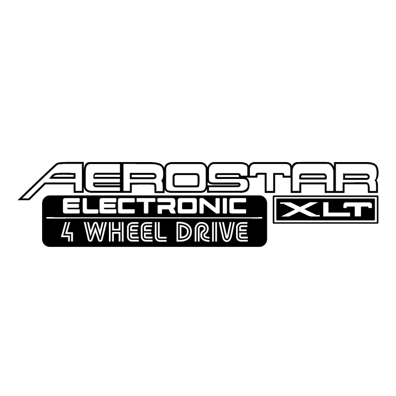 Aerostar Electronic XLT vector