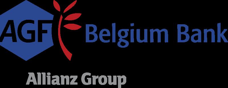 AGF Belgium Bank vector