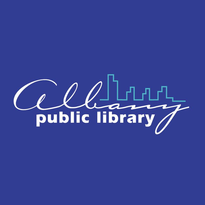 Albany Public Library vector