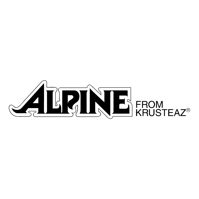 Alpine 55507 vector