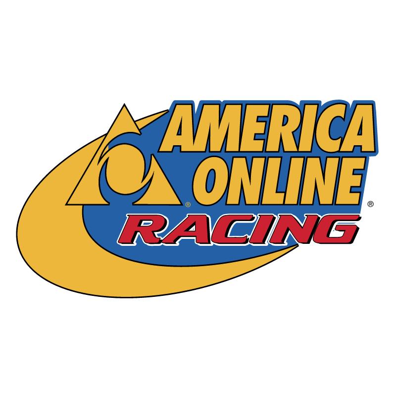 America Online Racing vector