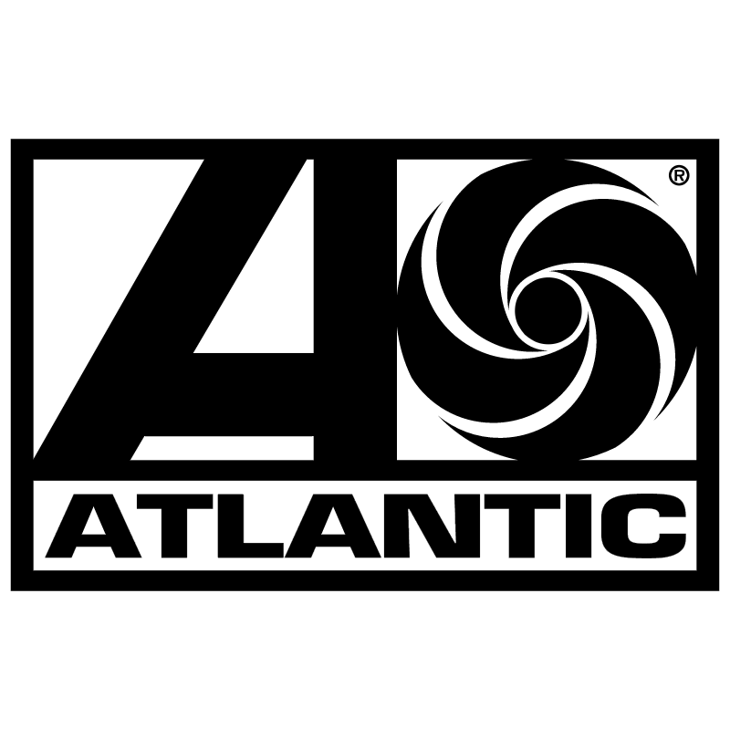 Atlantic Records 4151 vector