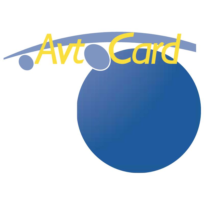 Avtocard 8885 vector