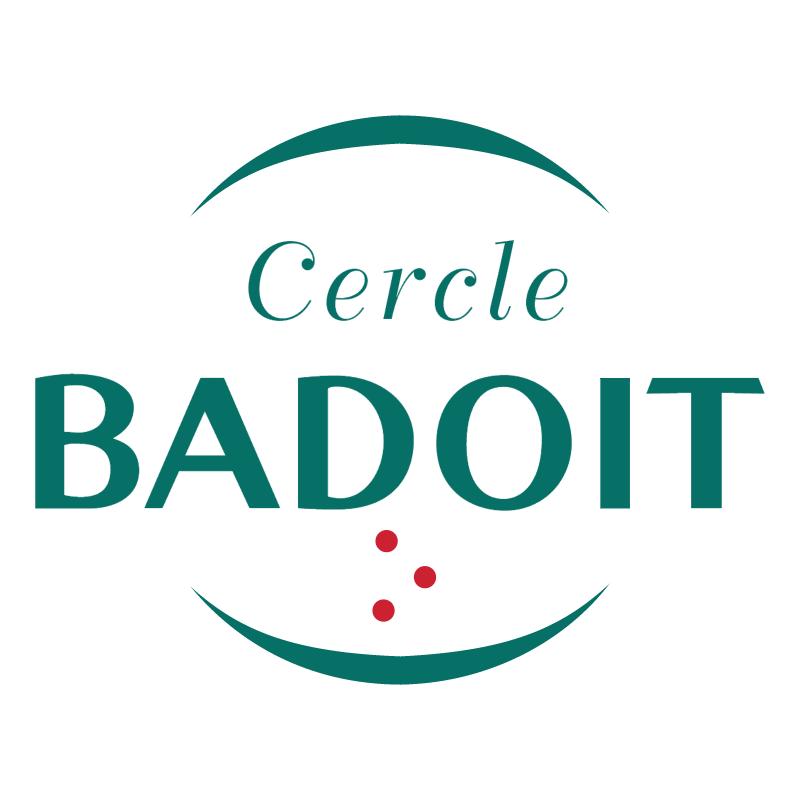 Badoit Cercle vector