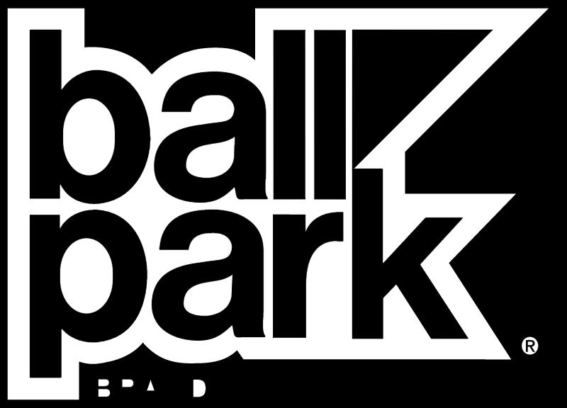 BALL PARK BRAND vector