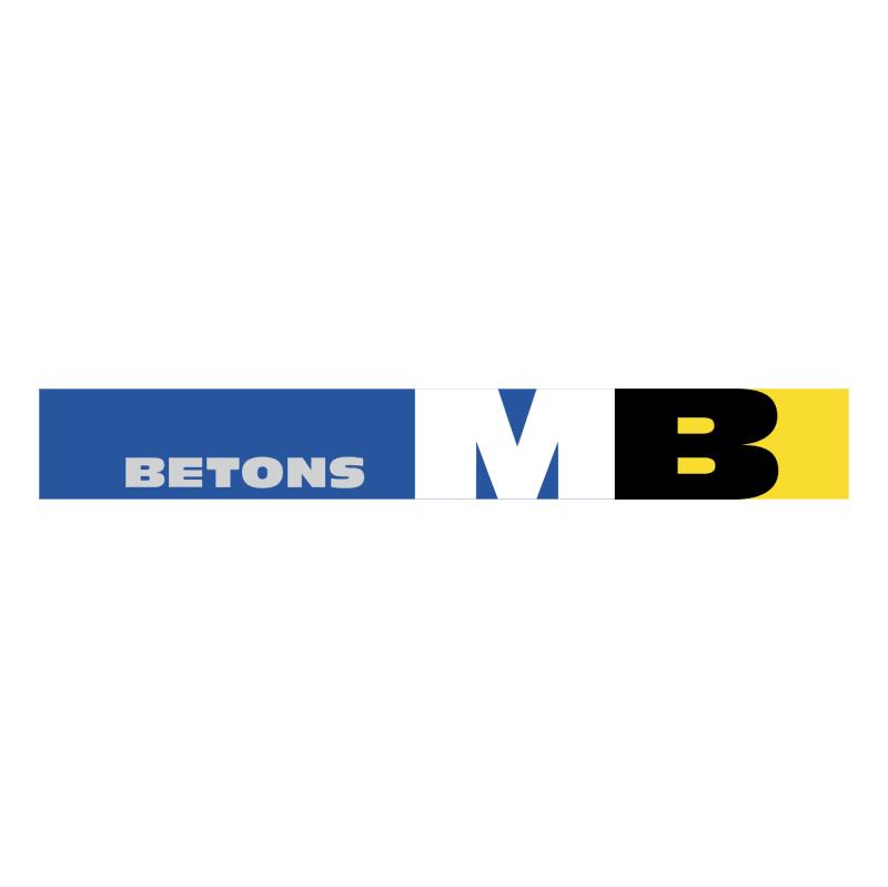 Betons MB 86773 vector