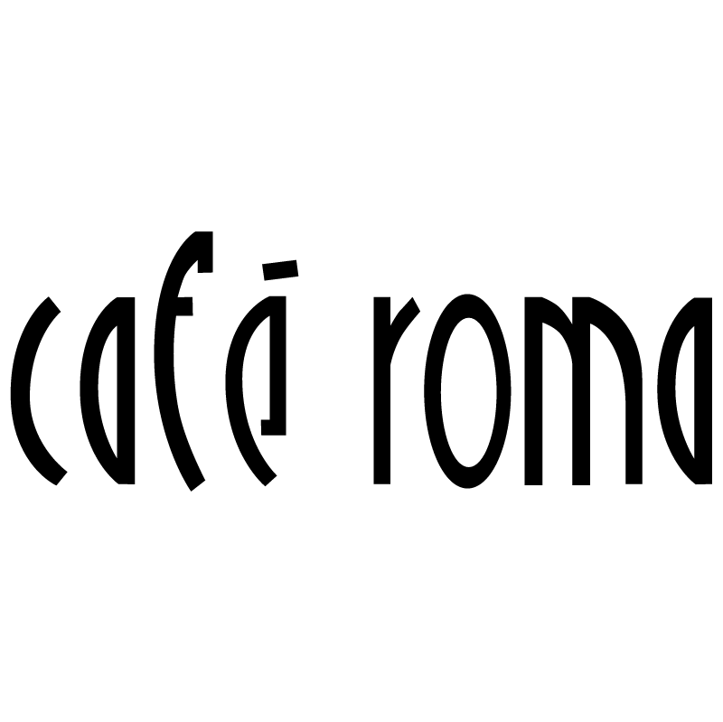 Cafe Roma vector