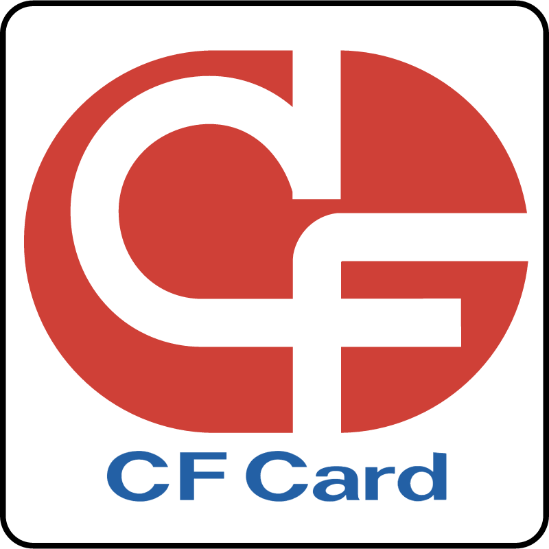 CF CARD vector