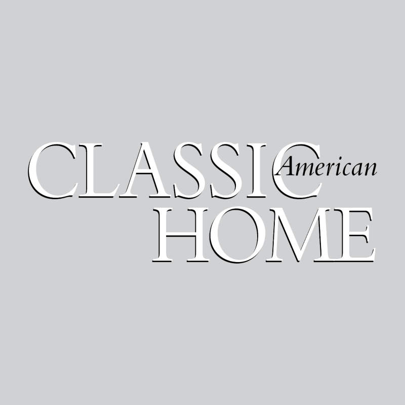 Classic American Home vector