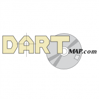 Dart Map Com vector