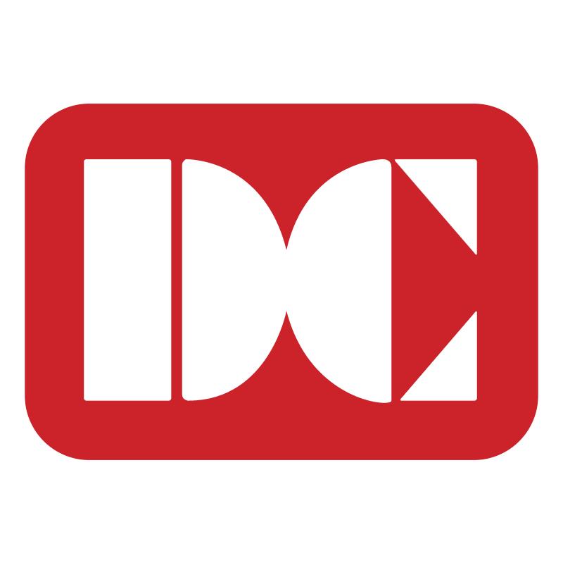 DC Card vector logo