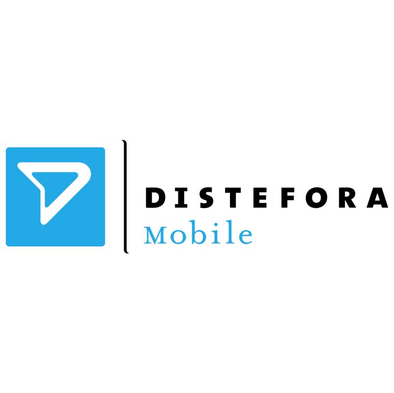 Distefora Mobile vector