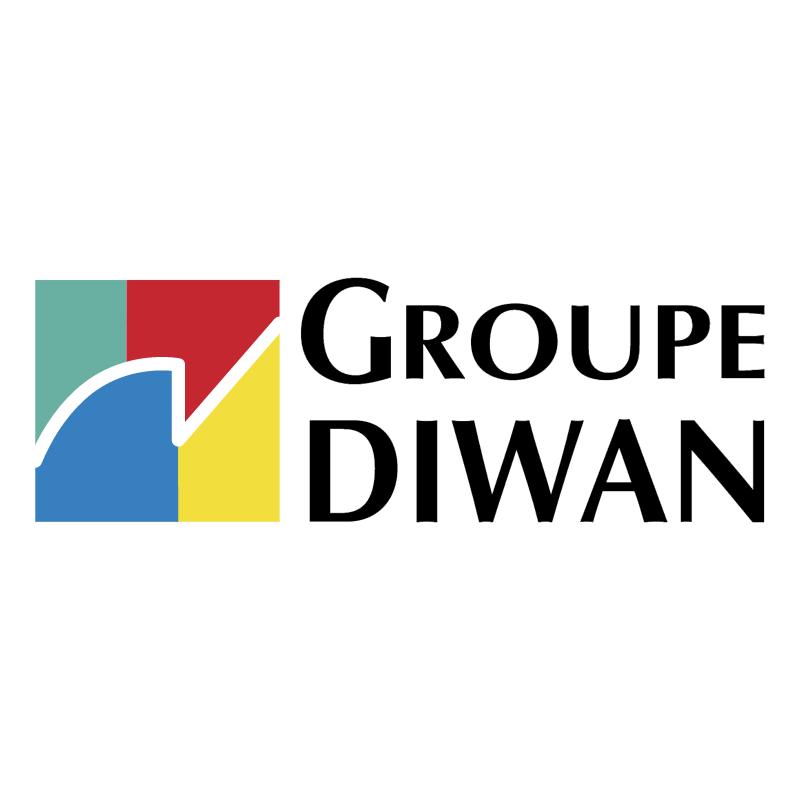 Diwan Groupe vector logo